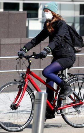 bicleta contra coronavirus